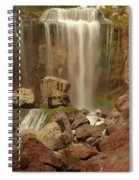Falling Into The Canyon Spiral Notebook