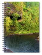Falling Off The Cliff Spiral Notebook
