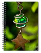 Falling Star Spiral Notebook