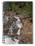Falling Water Glen Alpine Falls Spiral Notebook