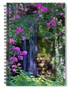 Falling Water Spiral Notebook