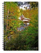 Falling Waters House Setting Spiral Notebook