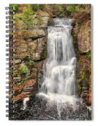 Falls At Bushkill Spiral Notebook