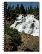 Falls In Site Glen Alpine Falls Spiral Notebook