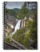 Falls In The Grand Canyon Of Yellowstone Spiral Notebook