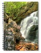 Falls Through The Rocks Spiral Notebook