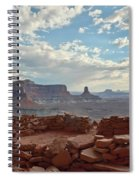 False Kiva Spiral Notebook
