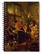 Family Meal Spiral Notebook
