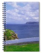 Fanad Head Lighthouse, Co Donegal Spiral Notebook