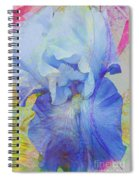 Fanciful Flowers - Iris Spiral Notebook