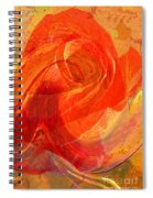 Fanciful Flowers - Rose Spiral Notebook