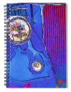 Fancy Dancy Vintage Ford Cabriolet Spiral Notebook