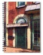 Fancy Green Door Burlington Nj Spiral Notebook