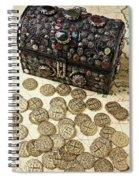 Fancy Treasure Chest  Spiral Notebook