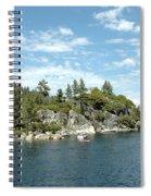 Fannette Island Boat Party Spiral Notebook