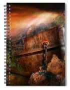 Fantasy - Ship Wrecked Spiral Notebook