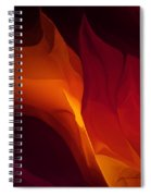 Fantasy Floral 030112 Spiral Notebook
