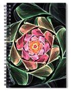 Fantasy Floral Expression 111311 Spiral Notebook