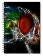 Fantasy Fly Spiral Notebook