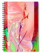Fantasy Girl 2 Spiral Notebook