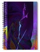 Fantasy Girl Spiral Notebook