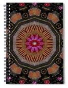 Fantasy Orchid Art Spiral Notebook