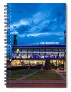 Fantasy Train Station Spiral Notebook