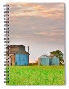 Farm Buildings Spiral Notebook