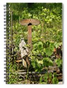 Farm Mower 1 Spiral Notebook