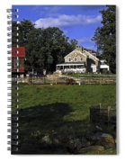 Farm Scene Spiral Notebook