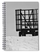 Farm Wagon Spiral Notebook