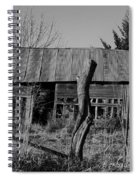 Farmers Building Spiral Notebook