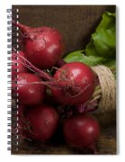 Farmer's Market Beets Spiral Notebook
