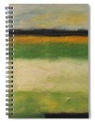 Farmfield By Highway 29 Spiral Notebook