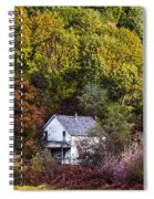 Farmhouse In Fall Spiral Notebook