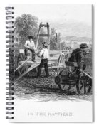 Farming, C1870 Spiral Notebook