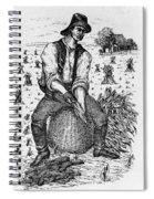 Farming: Corn Husker Spiral Notebook
