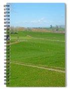 Farming Scene Spiral Notebook