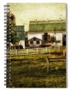 Farmland In Intercourse - Pennsylvania Spiral Notebook