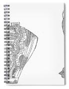 Fashion: Chemisette, 1854 Spiral Notebook