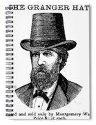 Fashion: Granger Hat Spiral Notebook