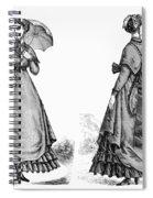 Fashion: Women, 1868 Spiral Notebook