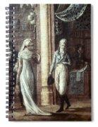 Fashionable Parisians, 1799 Spiral Notebook