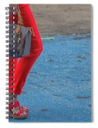 Fashionably Red Spiral Notebook
