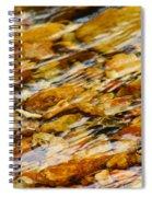 Fast Flowing Spiral Notebook