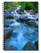 Fast-flowing River Spiral Notebook