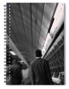 Fast Lane Spiral Notebook