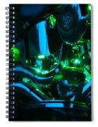 Fat Boy Abstract Spiral Notebook