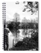 Father And Daughter - River Dee Chester Spiral Notebook