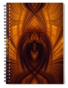 Fawning Obsequiousness Spiral Notebook